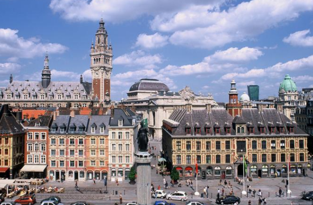 Discount business class tickets to London or Paris are the perfect excuse to visit nearby Lille. - IFlyFirstClass