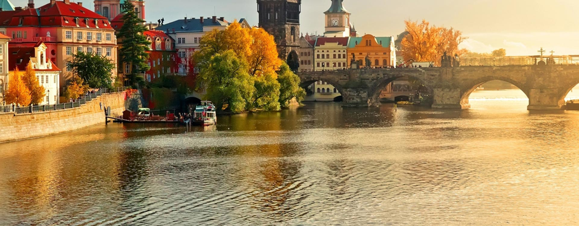 Prague's Charles Bridge is just one of many highlights of a business class flight to Prague. - IFlyFirstClass
