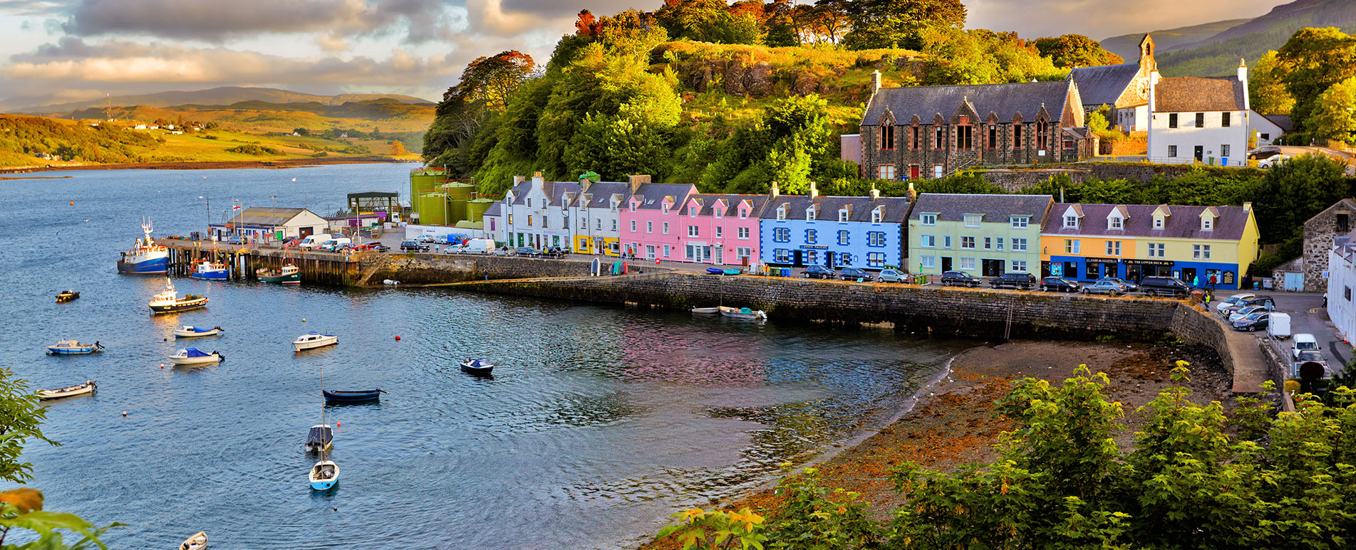 Discounted flight tickets to Scotland - IFlyFirstClass