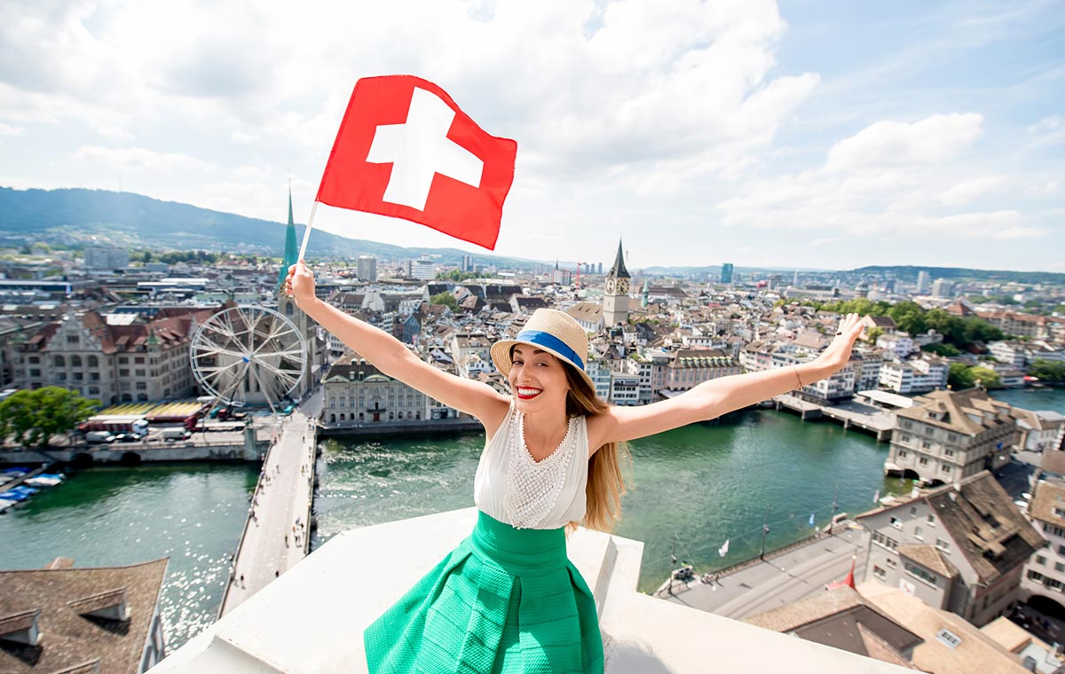 To experience all of the city's historic and modern highlights, book last minute business class tickets to Zurich. - IFlyFirstClass