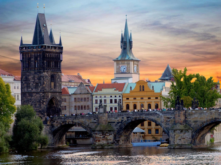 Book business class flights to Prague to explore the historic Old Jewish Cemetery. - IFlyFirstClass