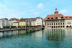 Splurge on Lake Lucerne cruises with help from deals on first class tickets to Lucerne. - IFlyFirstClass