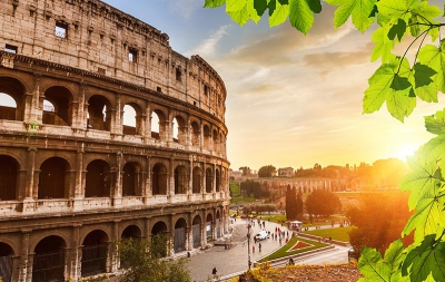 The luxuries of Italy include business class flights to the heart of Western civilization. - IFlyFirstClass