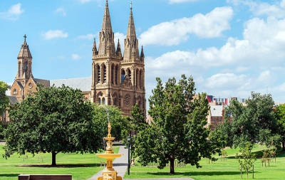 Revel in Adelaide's galleries, shopping, wineries and beaches with last minute deals to Australia. - IFlyFirstClass