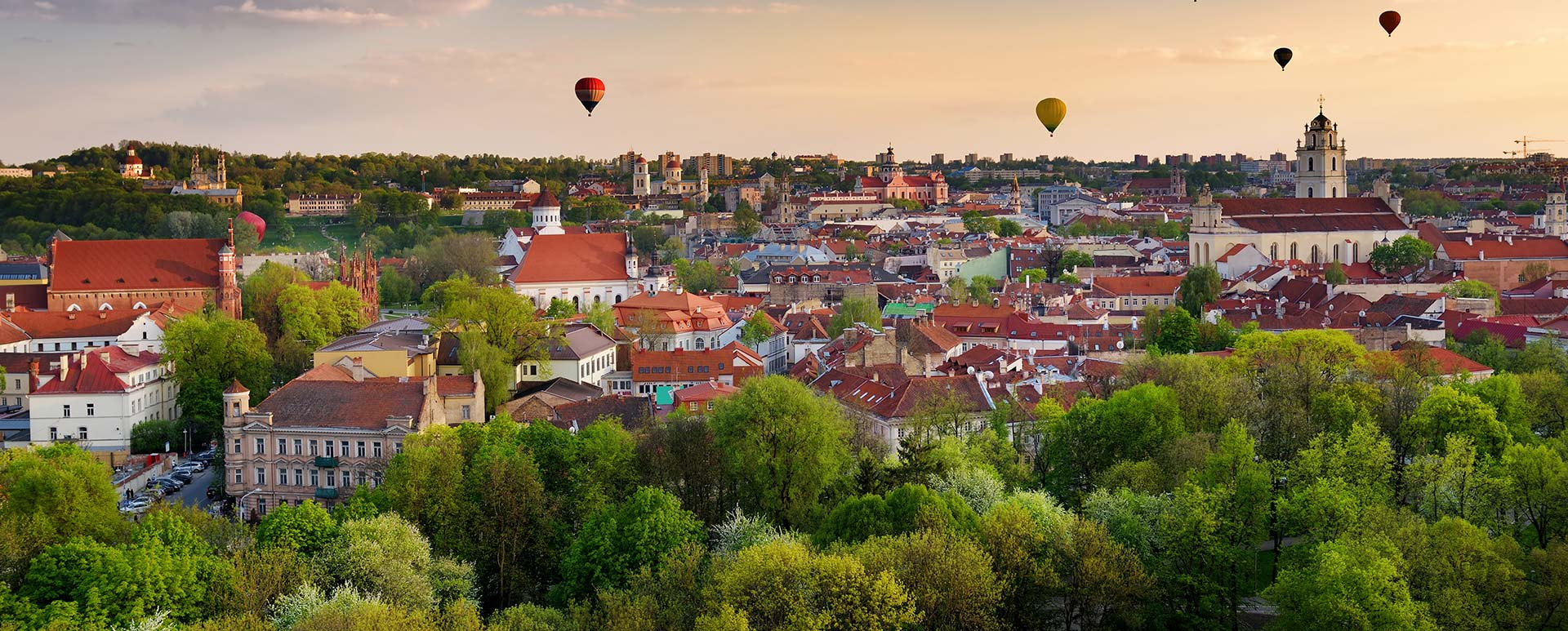 Discounted flight tickets to Lithuania - IFlyFirstClass