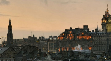 Book last minute first class flights to explore Edinburgh's historic underground and famous hauntings. - IFlyFirstClass